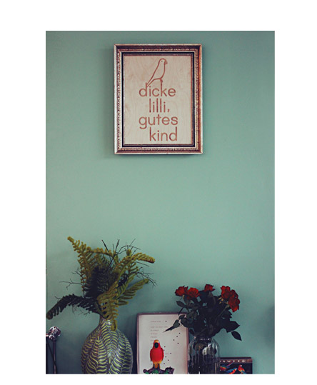 dicke lilli gutes kind. ein café.